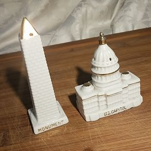 DC Salt and Pepper Shakers Wash Monument /Capitol